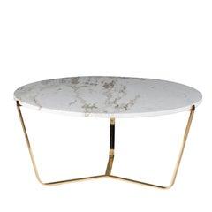 Dolomiti Calacatta Marble Tall Coffee Table