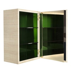 03.03 Collection Green Wall Cabinet