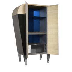 01.03 Collection Blue Bar Cabinet