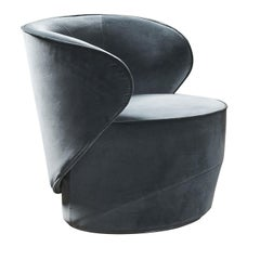 Grace Swivel Armchair by Pierangelo Sciuto