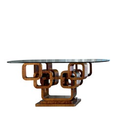 Glamour Oval Table