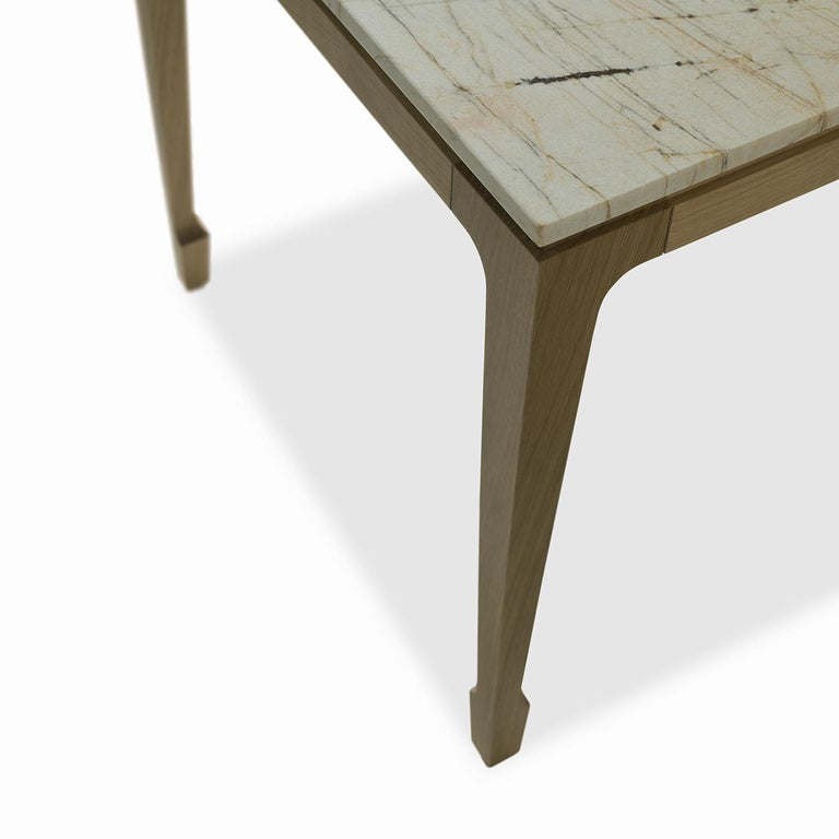Italian Yang Side Table For Sale