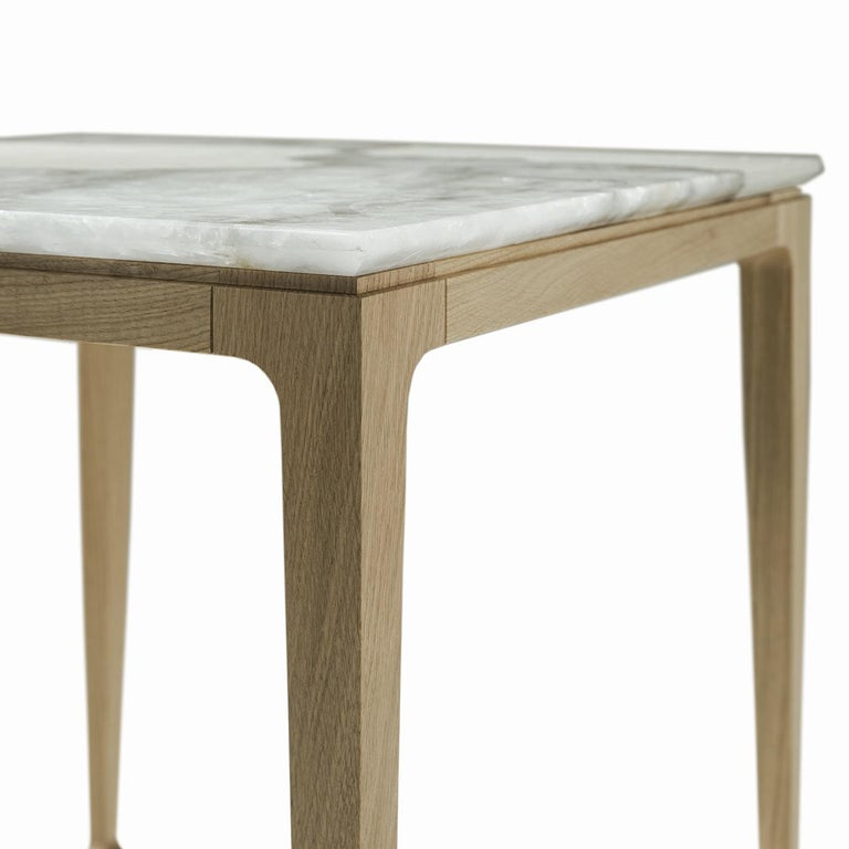Italian Yang Tall Side Table For Sale