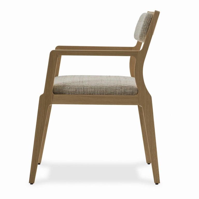 Italian Debbie Pale Blue Armchair For Sale
