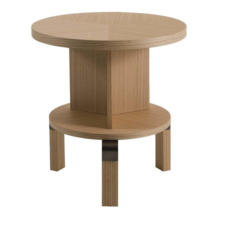 André Durmast Side Table For Sale
