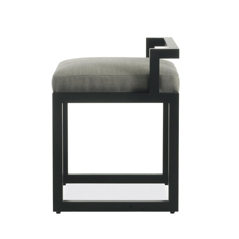 Bold and modern, the design of this chair will make it a statement piece in any contemporary setting. Either as extra seat in a living area or around the dining table, this chair will elevate the look of a room, mixing comfort with striking
