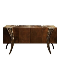 Opus Futura Leather Sideboard