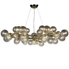 Mimosa 42-Light Gold Finish Chandelier