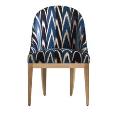 Albertine Blue Chair