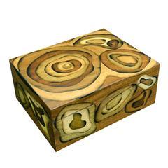 Wood Inlay Cigar Box by Framondi