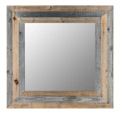 Wood Mirror Lago de Aial