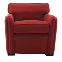 Boston Red Armchair