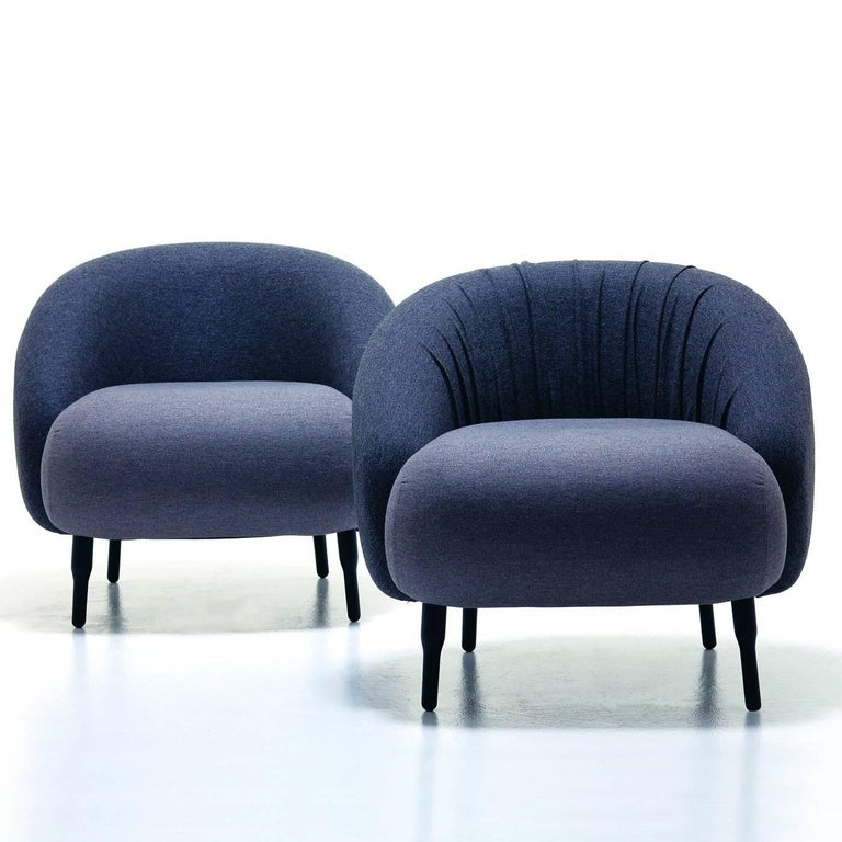Bump Black Armchair 2