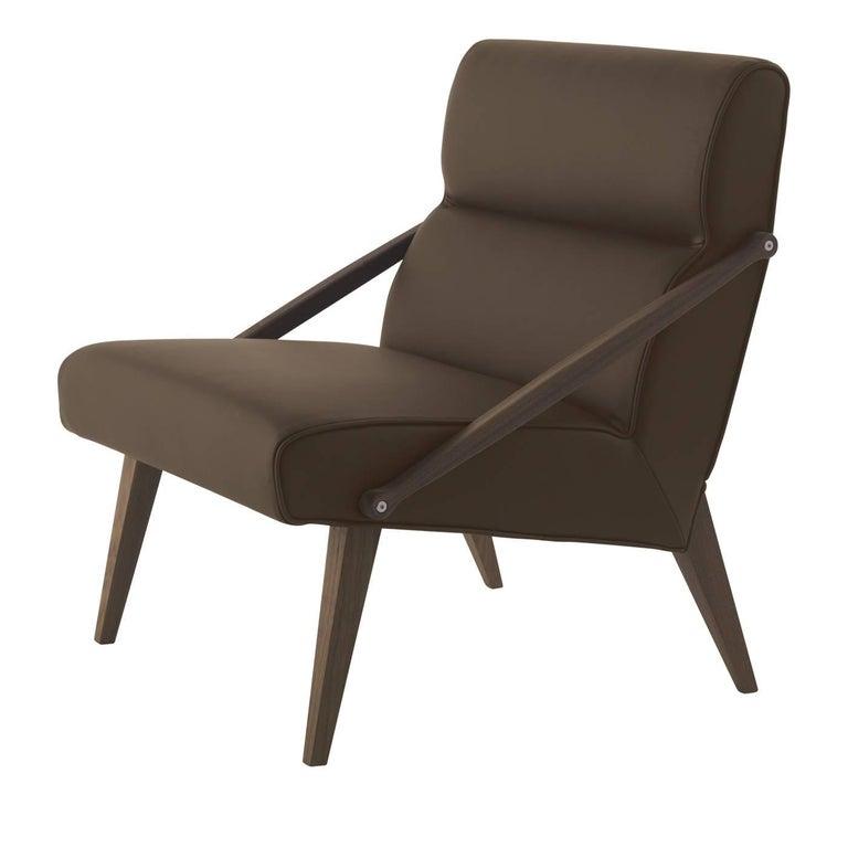 Attesa Leather Armchair