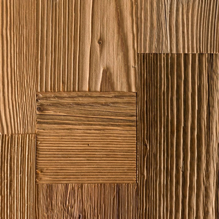 Wood Cubo Ra Stua Stool For Sale