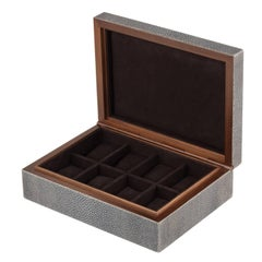 Frank Shagreen Leather Watch Box
