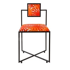 Capri Fuochi Arancio Iron Chair