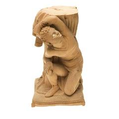 Moretto Wood Sculpture