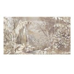 Silver Jungle Wallpaper