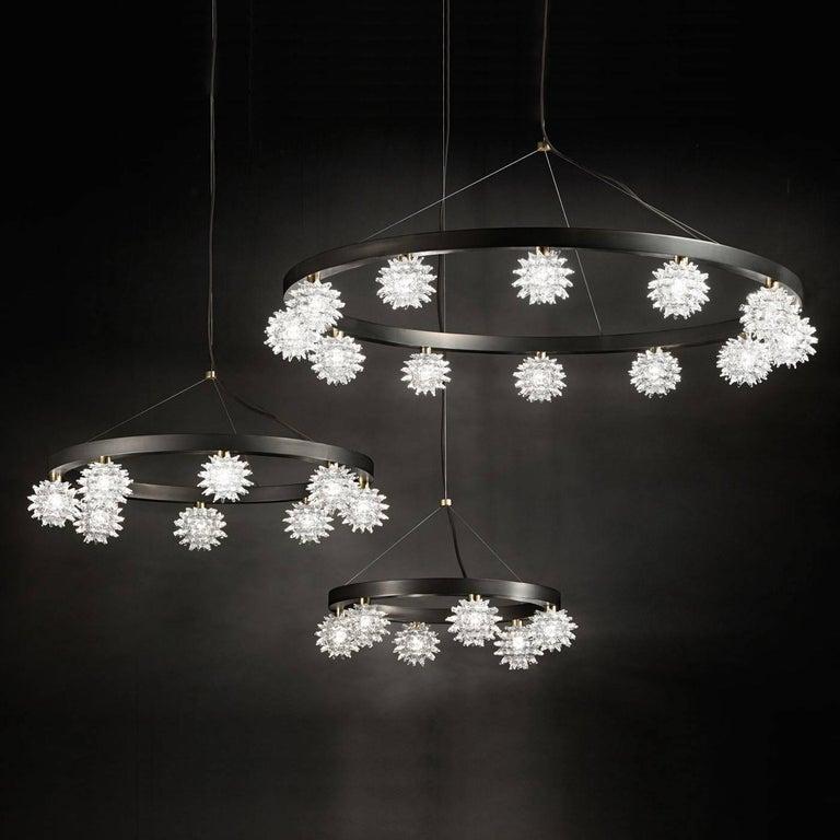 Italian Sforzinda Chandelier with Eight Lights For Sale