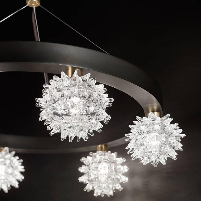 Sforzinda Chandelier with Eight Lights In New Condition For Sale In Milan, IT