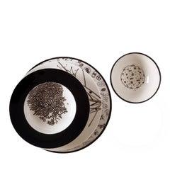 Set of Four Laguna Plates for Four