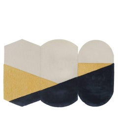Tris of Three OCI Rugs in Yellow