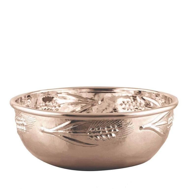 Premium Bowl in Copper and Silver