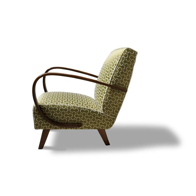 Art Deco Armchair In Excellent Condition For Sale In Milan, IT