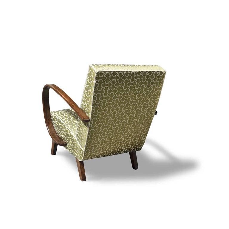 Mid-20th Century Art Deco Armchair For Sale