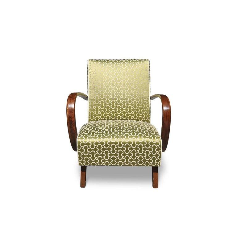 Italian Art Deco Armchair For Sale