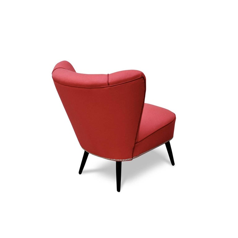 Italian Modo Cocktail Chair For Sale