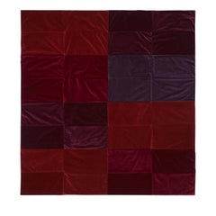 A Composition in Red Throw