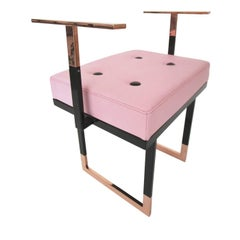 Mondrian Pink Pouf