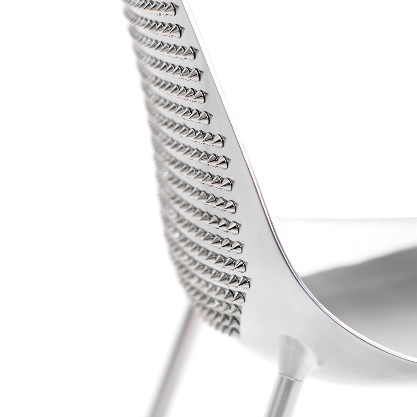 This Striking Chair Has A Structural Skin In Aluminium Supported By A Zinc Coated  Metal