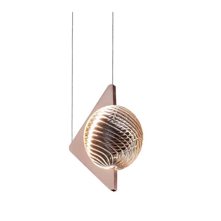 Oz Rose Gold Ceiling Lamp