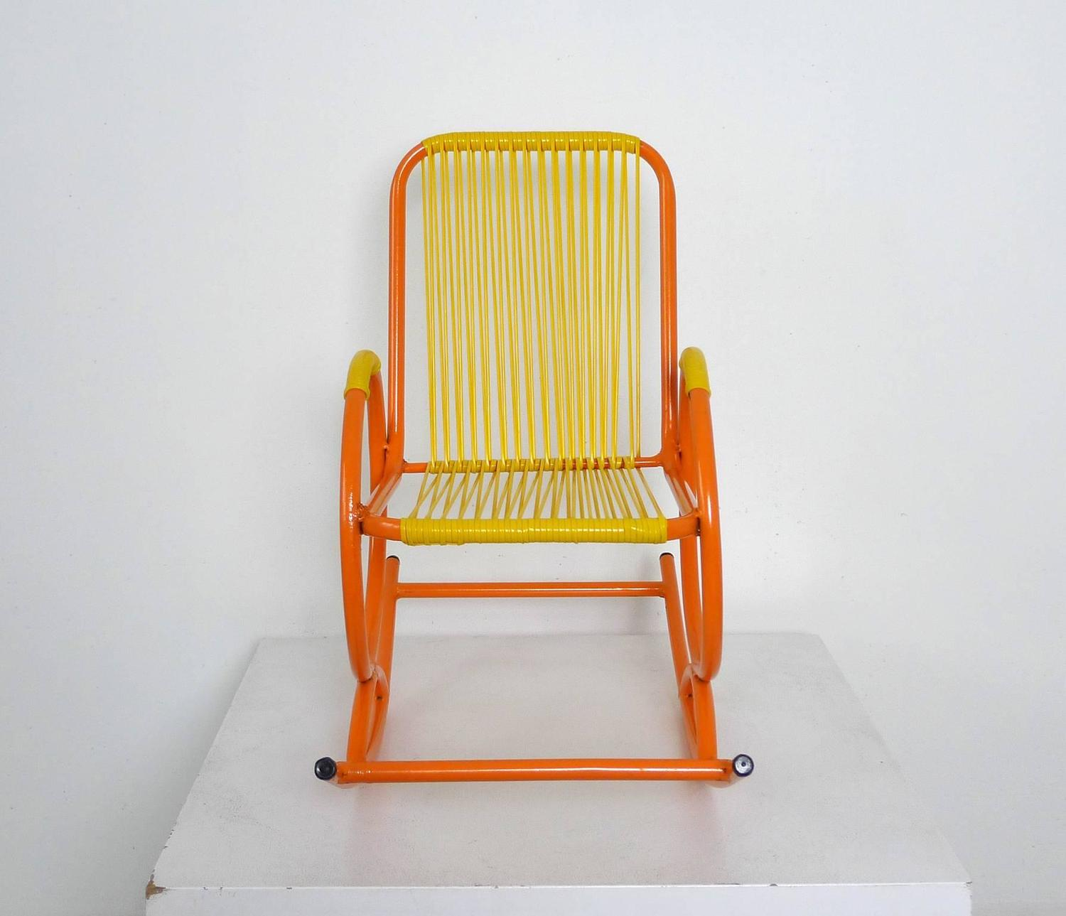 1950s Rocking Chair for Children from Italy For Sale at 1stdibs