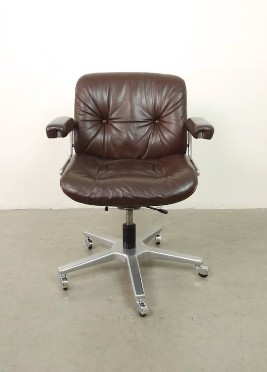 stoll giroflex office swivel chair switzerland 1970s at 1stdibs