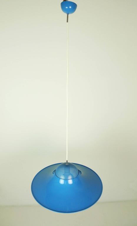 Homebase Tulip Ceiling Lights : Large blue tulip ceiling lamp from denmark s at stdibs