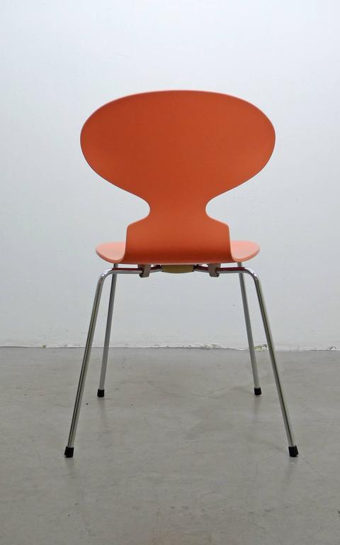 3101 ant chair by arne jacobsen for fritz hansen denmark 1950s for sale at 1stdibs. Black Bedroom Furniture Sets. Home Design Ideas