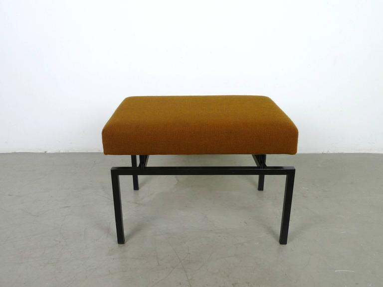 stool with stepladder from cor germany 1960s at 1stdibs. Black Bedroom Furniture Sets. Home Design Ideas