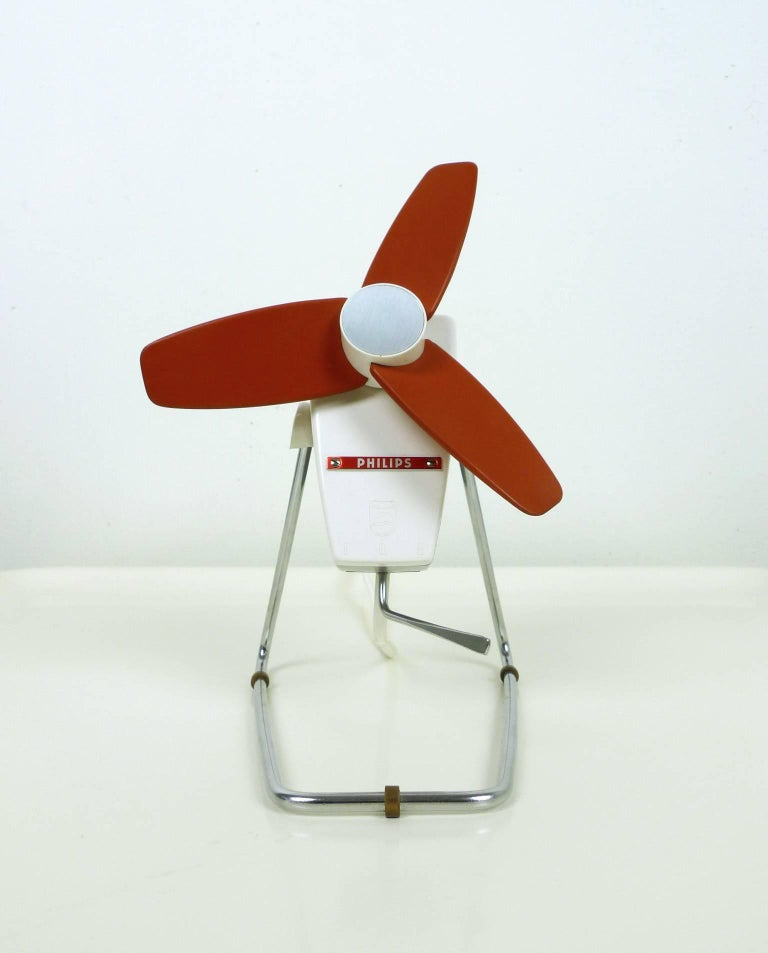 1960s Box Fan : Automatic speed table fan from philips germany s