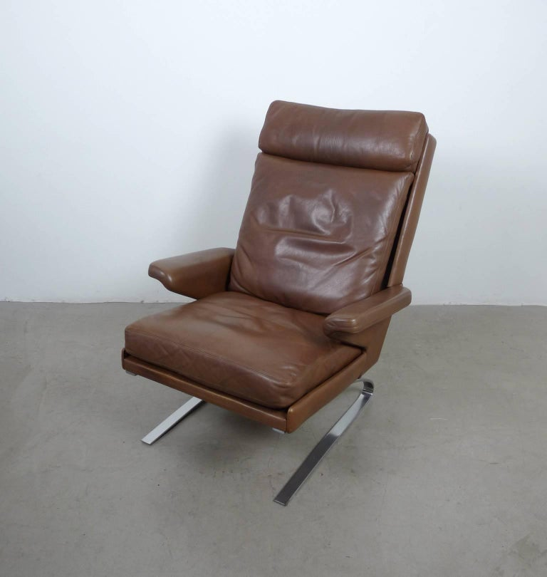 swing lounge chair by reinhold adolf for cor germany 1970s at 1stdibs. Black Bedroom Furniture Sets. Home Design Ideas