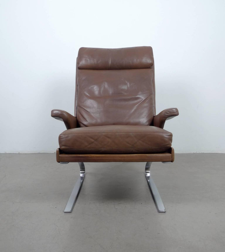 swing lounge chair by reinhold adolf for cor germany 1970s for sale at 1stdibs. Black Bedroom Furniture Sets. Home Design Ideas