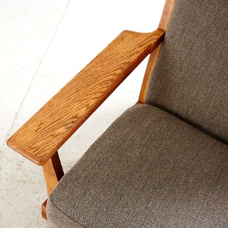 Hans Wegner High Back Lounge Chair by GETAMA 4