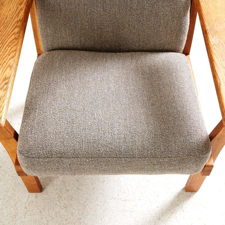 Hans Wegner High Back Lounge Chair by GETAMA 7
