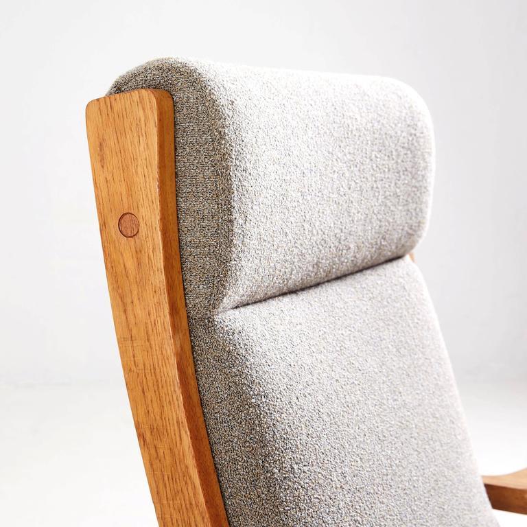 Hans Wegner High Back Lounge Chair by GETAMA 3
