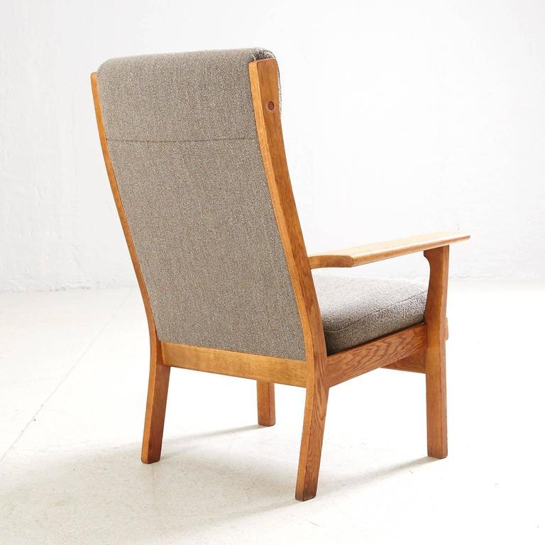 Hans Wegner High Back Lounge Chair by GETAMA 2