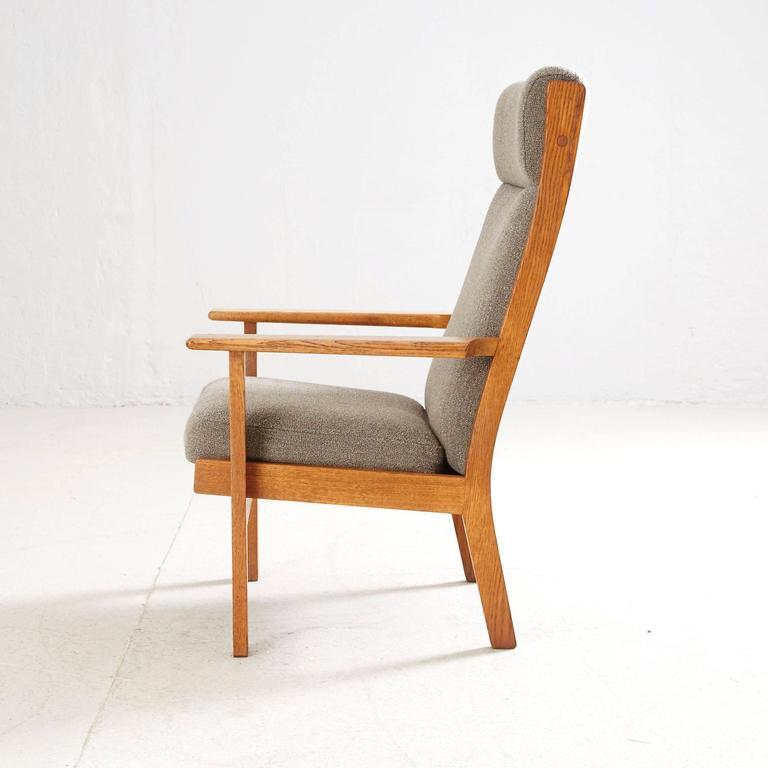 Hans Wegner High Back Lounge Chair by GETAMA 5