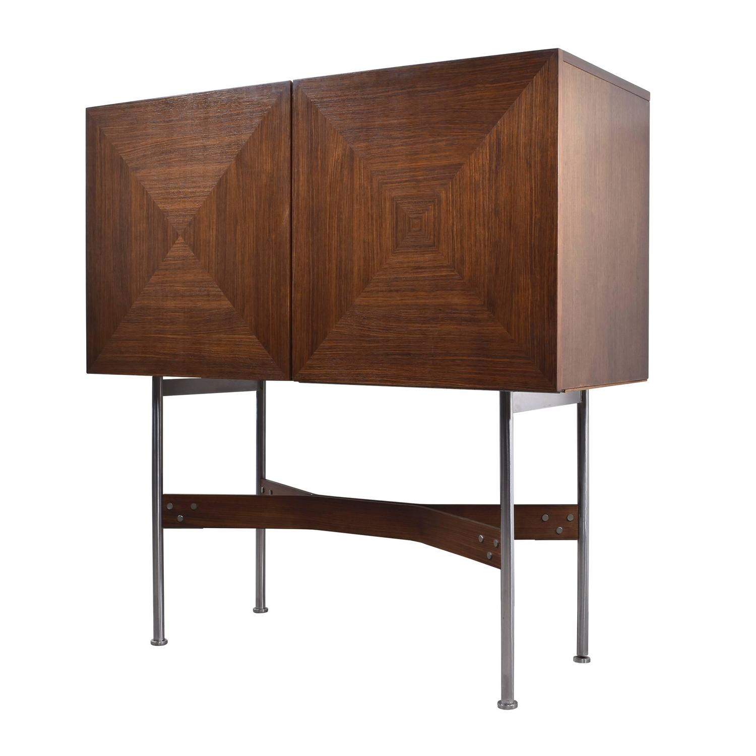 rudolf bernd glatzel bar cabinet for fristho for sale at. Black Bedroom Furniture Sets. Home Design Ideas